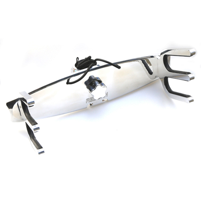 Reborn Pro quick release waterski rack polished