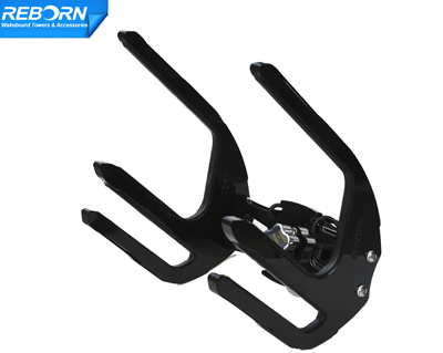Reborn Pro2 quick release Knee/wakeboard combo rack glossy black