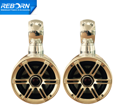 Pair of Reborn OEM Single Rotatable Wakeboard Speaker 6 1/2in