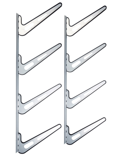 New! Heavy Duty BoardSports Wall Storage Rack