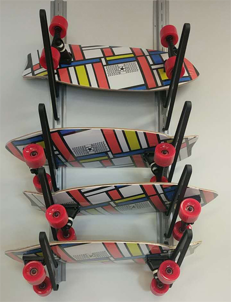 New Heavy Duty Boardsports Wall Storage Rack Reborn