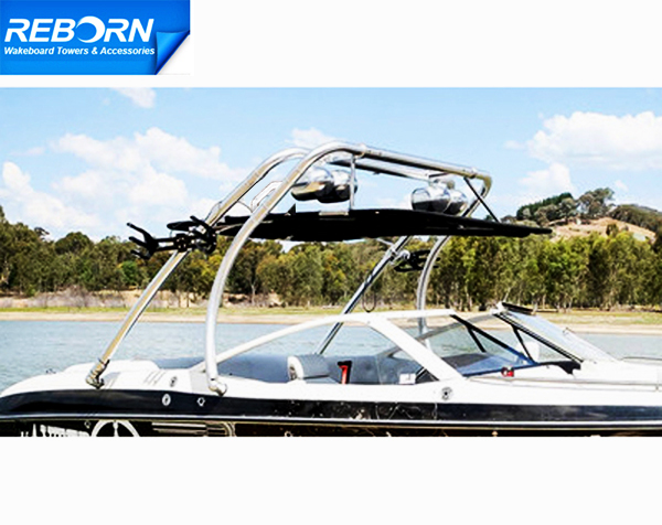 Reborn Thrust Wakeboard Tower + Pro/Pro2 Bimini